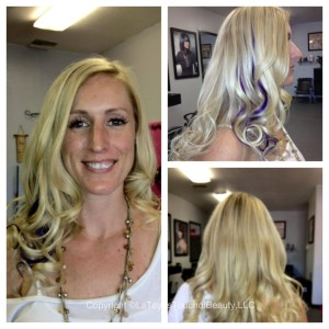 Invisible Braidless Sew In Hair Extensions After Photos Phoenix Salon