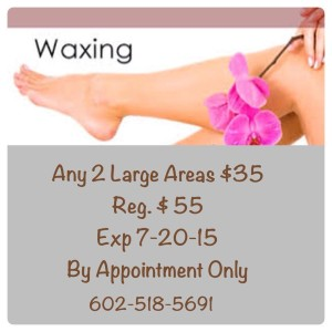 Waxing Special