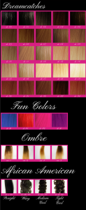 Dreamcatchers Dreamcatchers Color Sheet Hair Extesions for sale phoenix