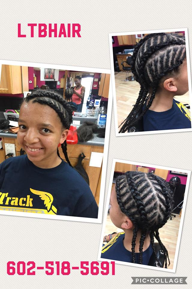 Braids Cornrows Hairextensions