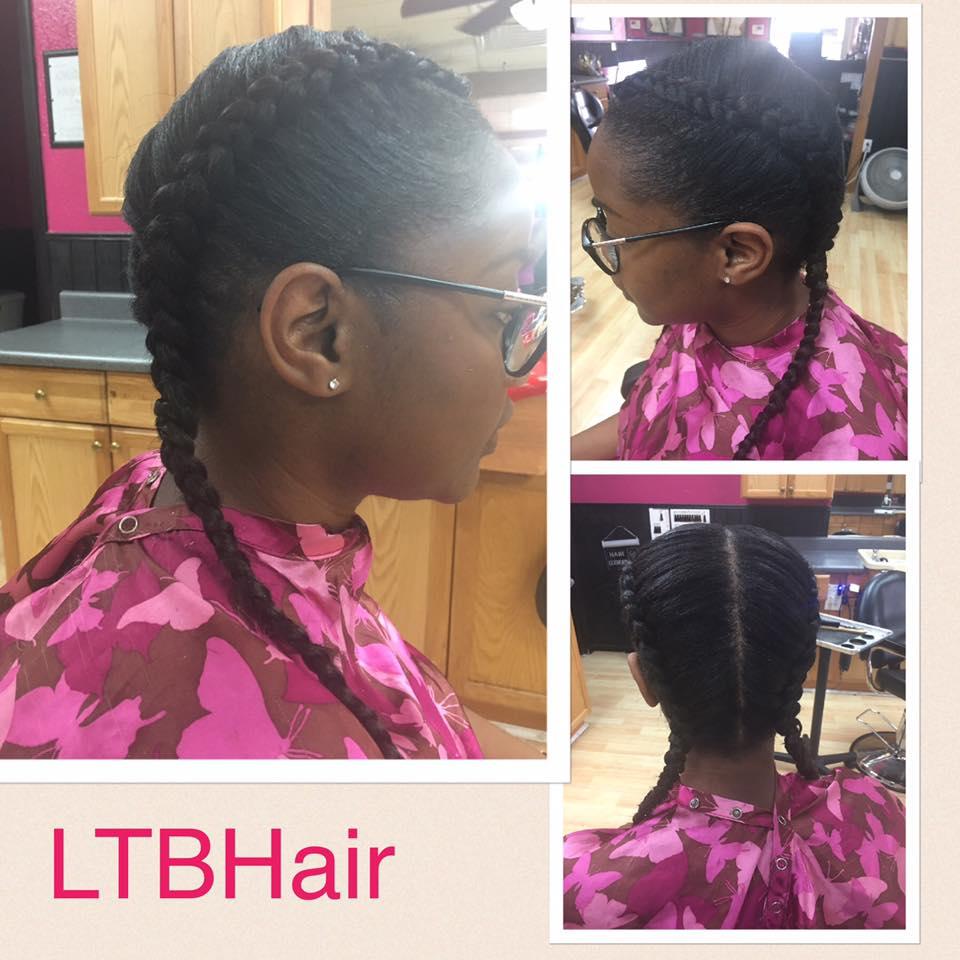 Natural-hairstyle-braids