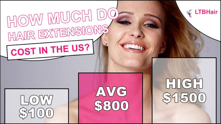 Hair Extensions Cost - Average Price