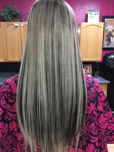 Braidless Hair Extensions Blonde Sew IN