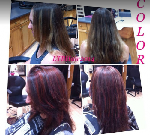 Before & After Hair Color