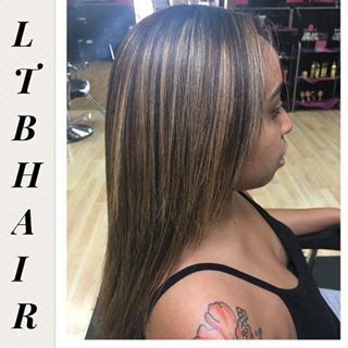 Natural Hair Color & Highlights